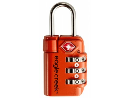 Eagle Creek zámek Travel Safe TSA Lock flame orange