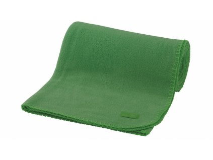 Easy Camp fleecová deka Fleece Blanket green