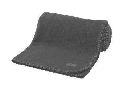 Easy Camp fleecová deka Fleece Blanket grey