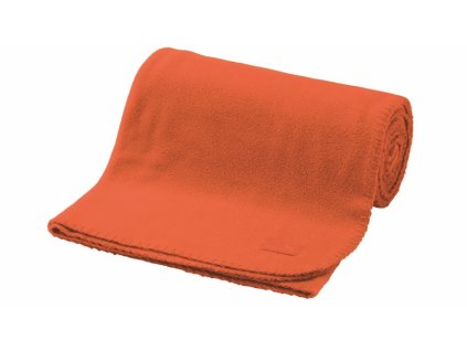 Easy Camp fleecová deka Fleece Blanket orange
