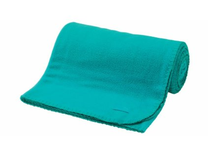 Easy Camp fleecová deka Fleece Blanket turquiose