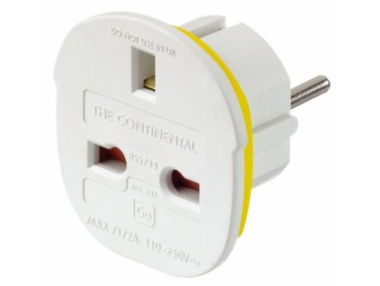 Go Travel adaptér Continental UK/Evropa