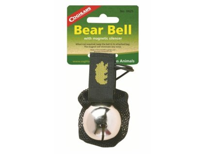 Coghlan´s rolnička na medvědy Bear Bell stříbrná