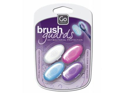 Go Travel kryty na zubní kartáčky Brush Shields