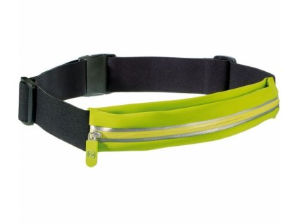 Go Travel opasek s kapsou Stretchy Belt Pouch lime