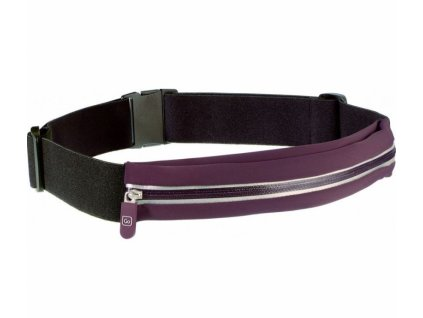 Go Travel opasek s kapsou Stretchy Belt Pouch violet