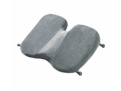 Go Travel podsedák Memory Foam Soft Seat grey