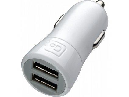 Go Travel USB nabíjecí autoadaptér 2.1A Double