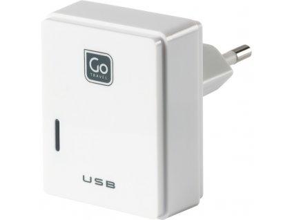 Go Travel USB nabíječka s micro USB a konektorem pro Evropu