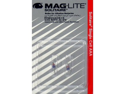 Maglite žárovka Solitaire Single Cell AAA