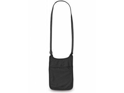 Pacsafe Coversafe S75 Neck Pouch black skrytá kapsa na krk