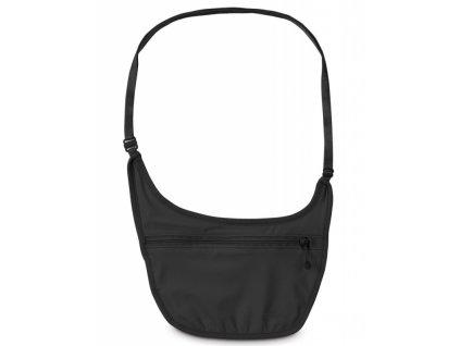 Pacsafe Coversafe S80 Body Pouch black skrytá kapsa přes rameno