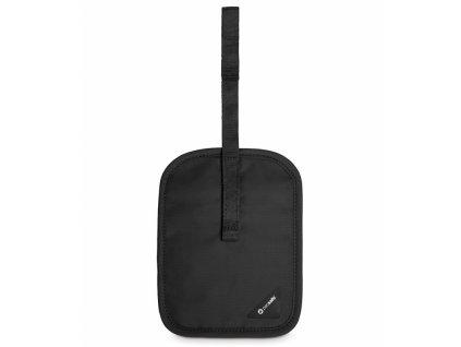 Pacsafe Coversafe V60 black skrytá kapsa na opasek