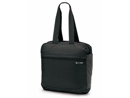 Pacsafe Pouchsafe PX25 charcoal skládací taška přes rameno - výp