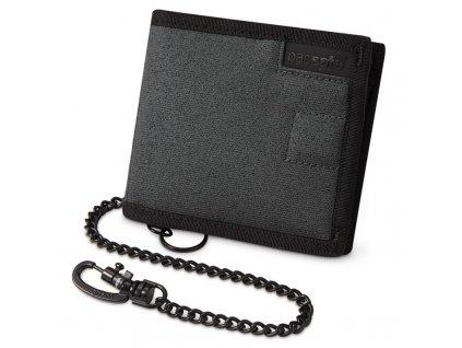 Pacsafe RFIDsafe Z100 charcoal bezpečnostní peněženka
