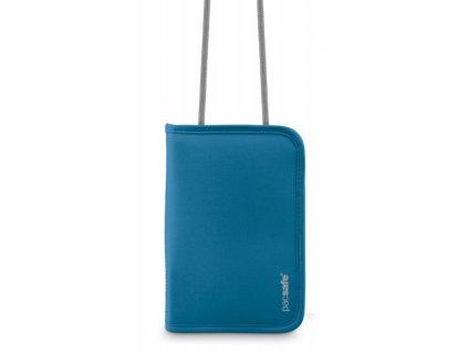 Pacsafe RFIDtec 175 ocean blue bezpečnostní peněženka - výprodej