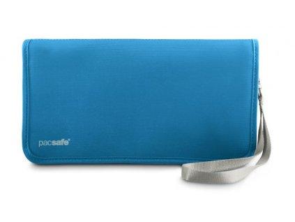 Pacsafe RFIDtec 225 ocean blue bezpečnostní organizér - výprodej