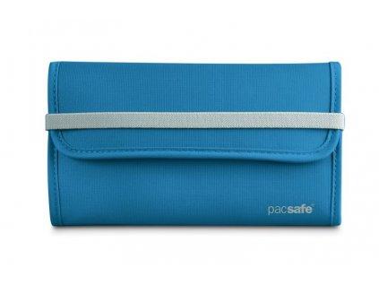Pacsafe RFIDtec 250 ocean blue bezpečnostní peněženka - výprodej