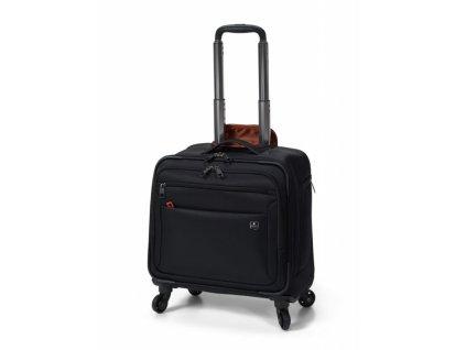 Swiza business taška na kolečkách Cassus black