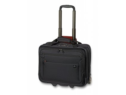 Swiza business taška na kolečkách Kybele black