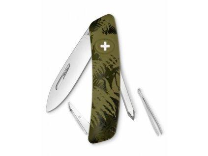 Swiza kapesní nůž D02 Standard Camo Silva olive