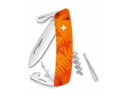 Swiza kapesní nůž D03 Standard Camo Filix orange