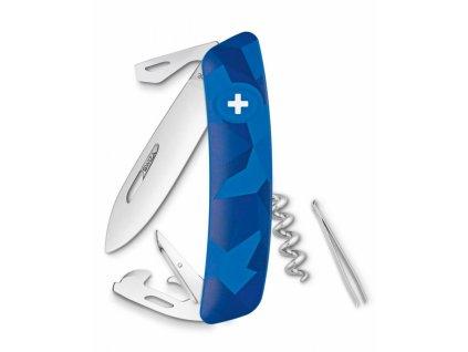 Swiza švýcarský kapesní nůž C03 Livor blue