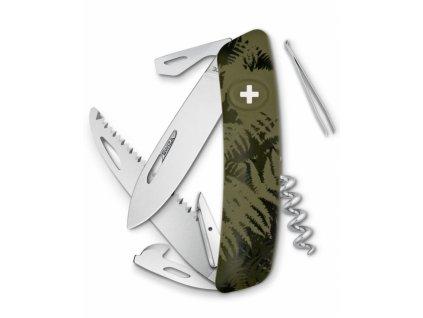 Swiza švýcarský kapesní nůž C05 Silva khaki