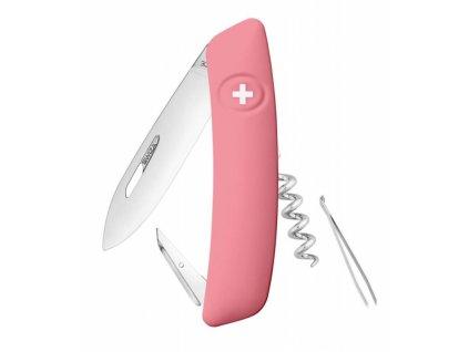 Swiza švýcarský kapesní nůž D01 pink