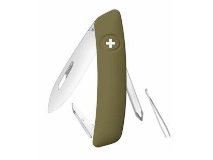 Swiza švýcarský kapesní nůž D02 olive