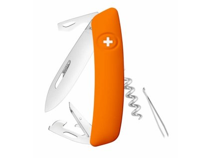 Swiza švýcarský kapesní nůž D03 orange