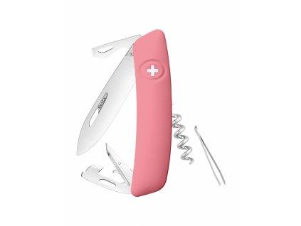 Swiza švýcarský kapesní nůž D03 pink