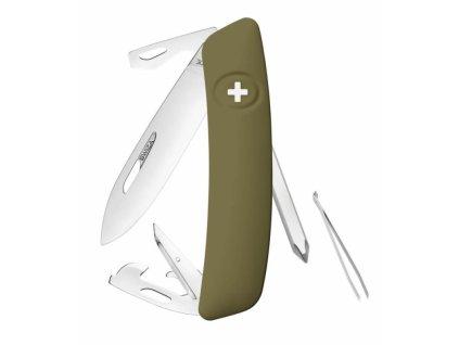 Swiza švýcarský kapesní nůž D04 olive