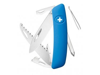 Swiza švýcarský kapesní nůž D06 blue