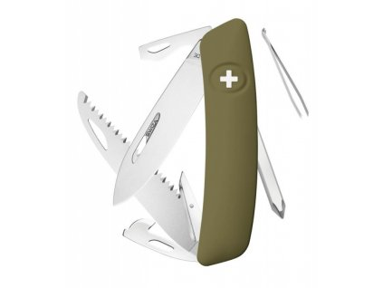 Swiza švýcarský kapesní nůž D06 olive