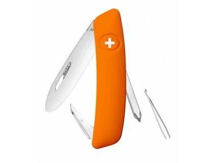 Swiza švýcarský kapesní nůž Junior J02 orange