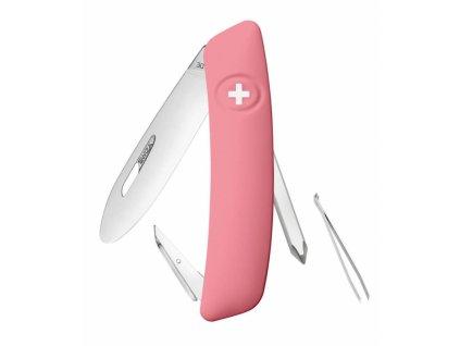 Swiza švýcarský kapesní nůž Junior J02 pink