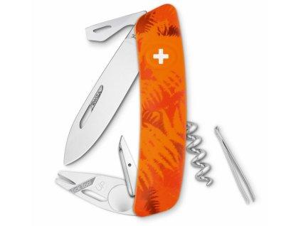 Swiza švýcarský kapesní nůž TT03 Filix orange