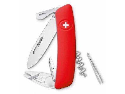 Swiza švýcarský kapesní nůž TT03 red