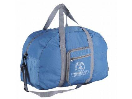 TravelSafe skládací taška Weekend Bag azure