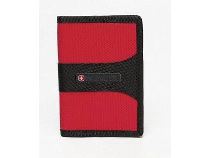 Wenger kapsa s ochranou RFID červená - výprodej