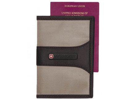 Wenger kapsa s ochranou RFID šedá - výprodej