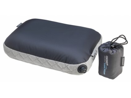 Cocoon nafukovací cestovní polštář Air-Core charcoal