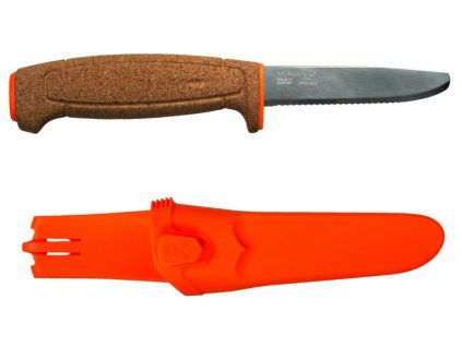 Morakniv nůž Floating Serrated Knife Orange