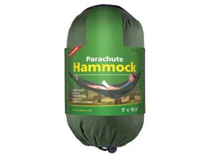 Coghlan´s hamaka Single Green Parachute Hammock