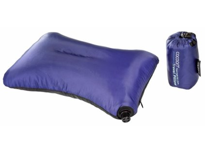 Cocoon nafukovací polštář Air-Core Microlight dark blue