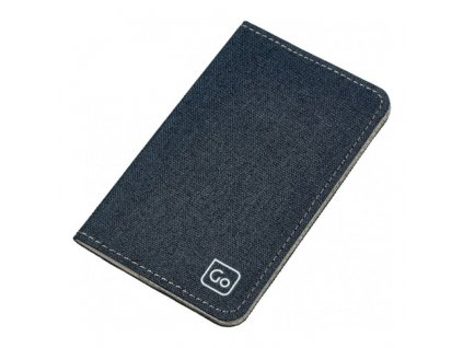 Go Travel pouzdro RFID Micro Credit Card Wallet denim