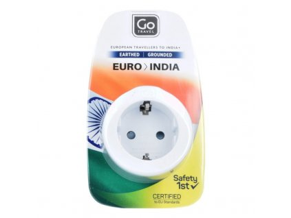 Go Travel adaptér Evropa/Indie