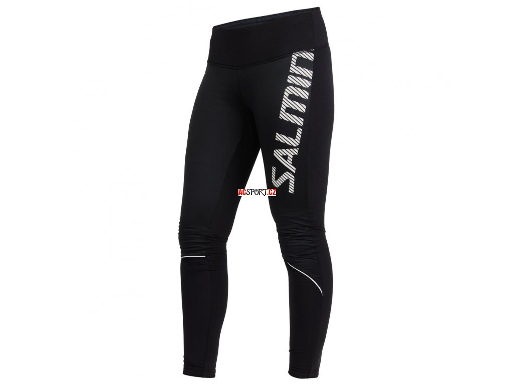 Salming Thermal Wind Tights Women Black (Velikost XS)
