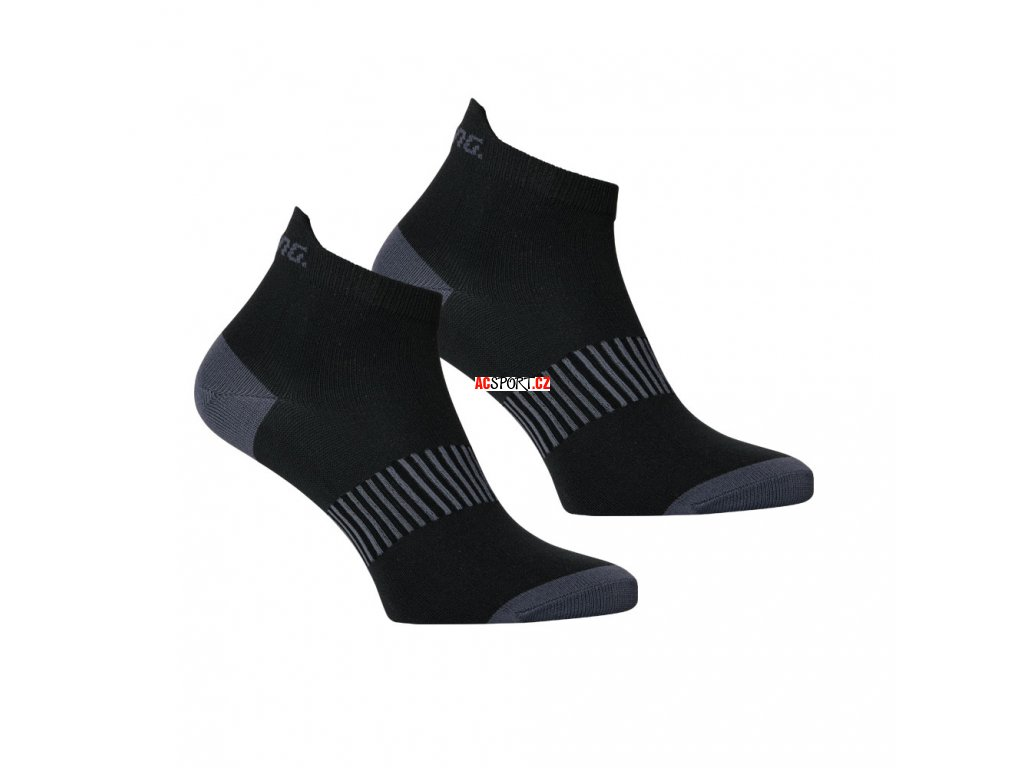 Salming Performance Ankle Sock 2p Black (Velikost 43-46)